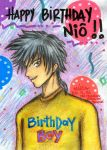 Happy Birthday Niou by mariapalitos68