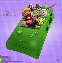 GameBoy Color Tribute Finished by DRLM