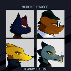 Night In The Woods by isohak