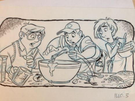 Gang of cake makers by tombancroft