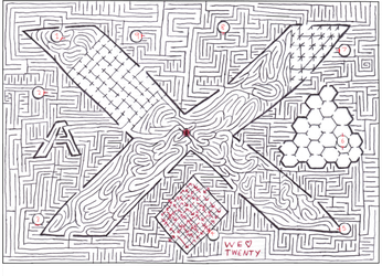 Maze 20 part one- two sides... by Nebagram