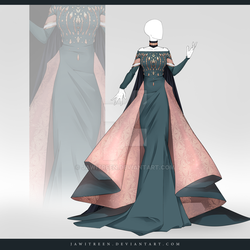 (CLOSED) Adoptable Outfit Auction 322 by JawitReen