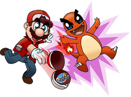 Request-PokeMario by MarkProductions