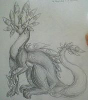 Light Creature sketch by PurpleHairedTrashCan