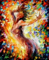 Songs Of Love by Leonid Afremov by Leonidafremov