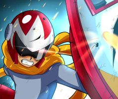 Maverick Hunter: Protoman by PringusMcDingus