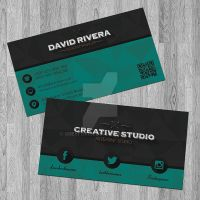 Retro - Modern Creative Business Card Vol.2 by GreyFoxGR