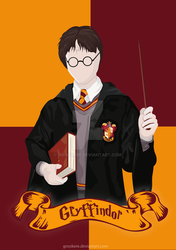 Harry Potter (Gryffindor) by Grookere