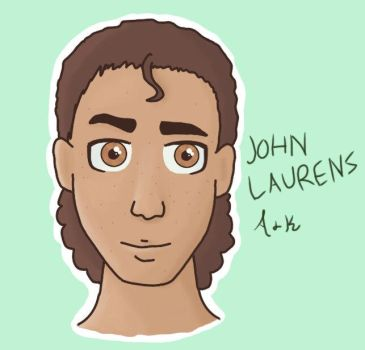 Colab-John Laurens by AlphaLordCalypso