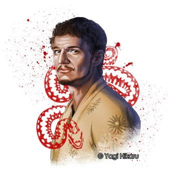 Oberyn Martell / The Red Viper of Dorne by yagihikaru
