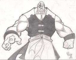 sketchn::Street Fighter Blaque by skribblboy