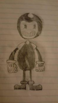 Bendy Sketch by AceTheLucario
