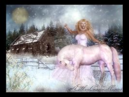 There is only winter by Ecathe