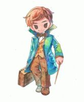 Newt Scamander by jengslizer