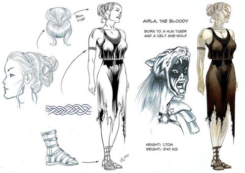 Making of AIRLA - the comicbook, part #2 by EliseuGouveia