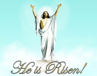 He is Risen! Alleluia! Christ is Risen! by LadyoftheApocalypse