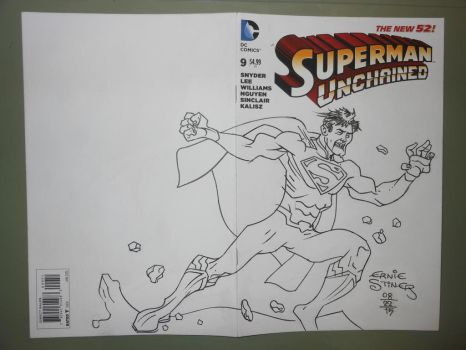 Superman Unchained by EJJS