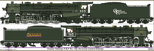 Oceanic Railways 4-8-4 No.4480, Ex-Great Central by Lapeer
