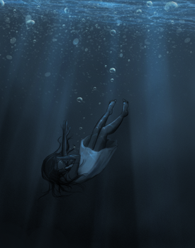 .: Drowning In Sorrow :. by lightcolorsart