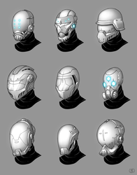 Helmet Concepts by LaNiMaL