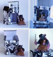 Possum Action Figure with Packaging by spulunk