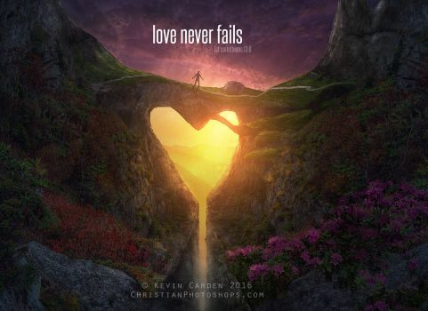 Love never fails by kevron2001