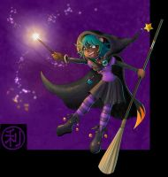 Tioma's Feeling Witchy by kureejiilea