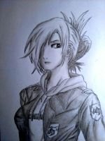 Annie Leonhardt shaded by HaiiroOni