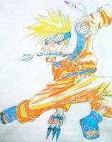 Naruto Uzumaki, the ninja by happylilsquirrel