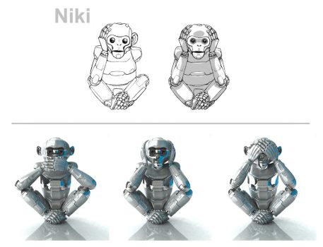 niki 3D by luisledesma