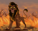 A Fire in His Eyes by Blumalou