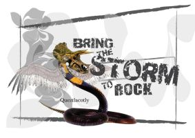 Quetzalcoatly: Bring the Storm To Rock by helios1027