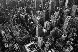 Looking down on New York Vers5 by lowjacker