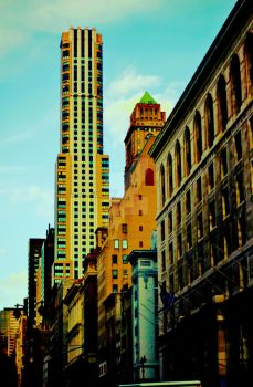 Walking Down the Street in NYC by picturesarelife