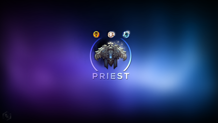 WoW: Priest by Xael-Design