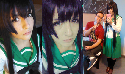 Saeko - Zombie Killer Waifu Selfies! by ishgardcosplay