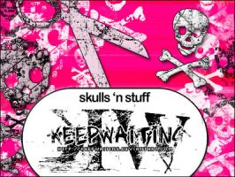 PS.7+ Brushes - SKULLS.ect. by KeepWaiting