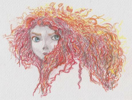 Merida - Brave by maja135able