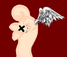 Emo Angel :Base: by Venulsaa
