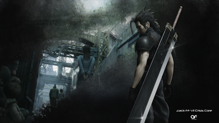 Final Fantasy VII Crisis Core - Zack by deSess