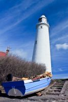St. Mary's Lighthouse vii by Little-Miss-Splendid