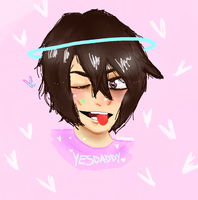 Commission for YesDaddy owo by corinnezz