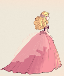 Pink Dress by snarkies