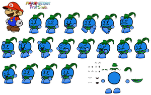 The Leaf (Mario Story Fruit Shake) by DerekminyA