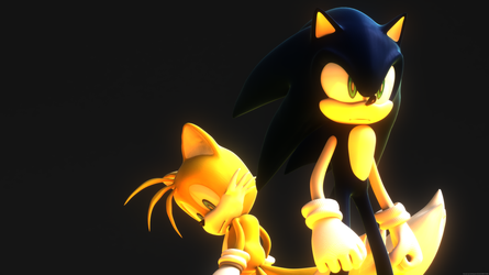 Sonic and Tails 4K by itsHelias94