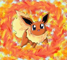 Flareon Request by chikadee34