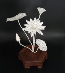 Ikebana Inspiration - Lotus by KarineDiot