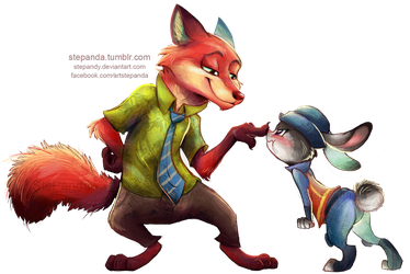 Zootopia by StePandy