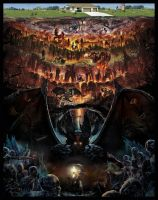 Dante's Inferno The Nine Circles Of Hell Part 2 by REDVAMPIRE120652