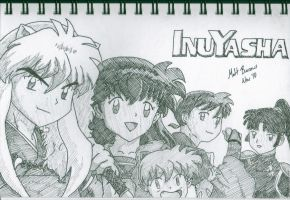 InuYasha Group Pic by StarvingArtist64